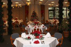 Christmas buffet on christmas day at Soltauer Hof